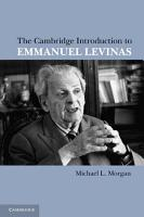 The Cambridge Introduction to Emmanuel Levinas PDF