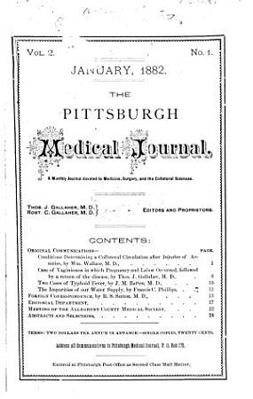 Pittsburgh Medical Journal PDF