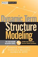 Dynamic Term Structure Modeling PDF
