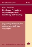 Die globale Perspektive der Bildung f  r eine nachhaltige Entwicklung PDF