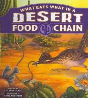 What Eats What in a Desert Food Chain PDF