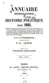 Annuaire historique universel, ou, Histoire politique