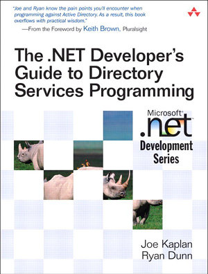 The  NET Developer s Guide to Directory Services Programming