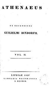 Athenaeus: Volume 2