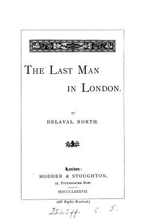 The Last Man in London