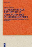 Gradation als   sthetische Denkform des 18  Jahrhunderts PDF
