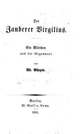 Der Zauberer Virgilius: ein Märchen aus der Gegenwart