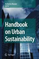 Handbook on Urban Sustainability