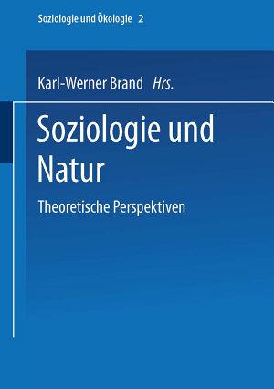 Soziologie und Natur PDF