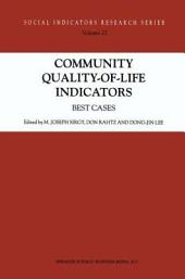Community Quality-of-Life Indicators: Best Cases