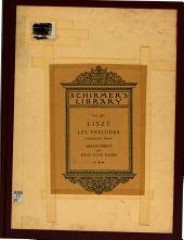 Les préludes: symphonic poem after Lamartine : composer's arrangement for piano four hands