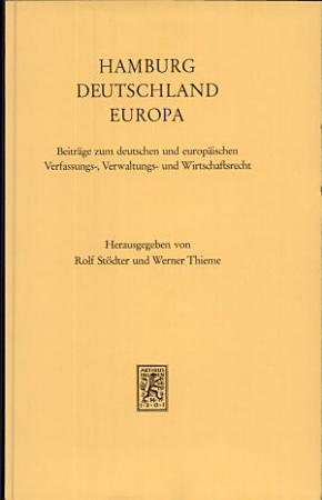 Hamburg  Deutschland  Europa PDF
