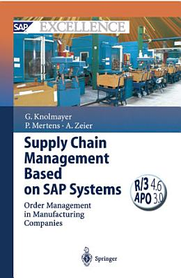 Supply Chain Management Based on SAP Systems PDF