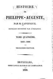 Histoire de Philippe-Auguste: Volume4