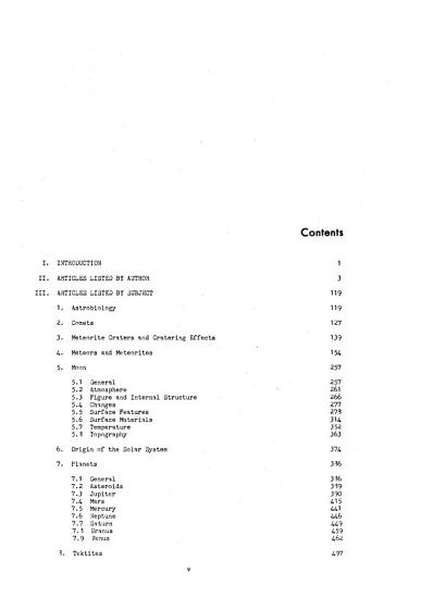 Bibliography of Lunar and Planetay Research PDF