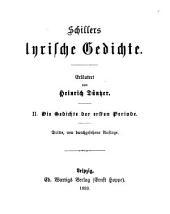 Erläuterungen zu Schillers Werken: Bände 4-5