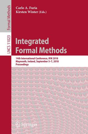 Integrated Formal Methods PDF