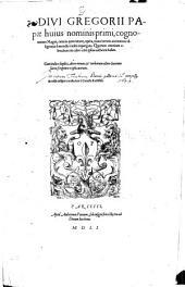 Omnia quae extant Opera: Volume 1