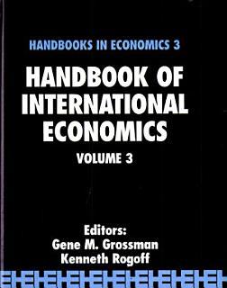 Handbook of International Economics Book