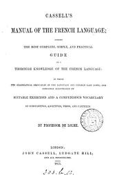 Cassell's manual of the French language
