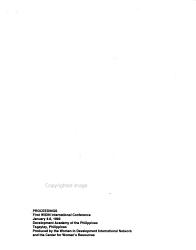 Proceedings     WIDIN International Conference PDF