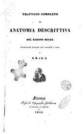 Trattato completo di anatomia descrittiva del barone Boyer