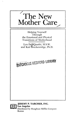 The New Mother Care PDF