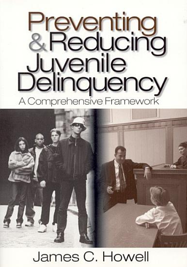 Preventing and Reducing Juvenile Delinquency PDF