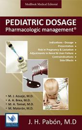 Pediatric Dosage: Pharmacologic Management
