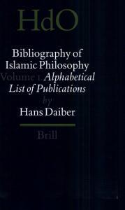 Bibliography of Islamic Philosophy PDF