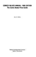 Comics Values Annual  1994 95 PDF