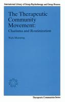 The Therapeutic Community Movement PDF