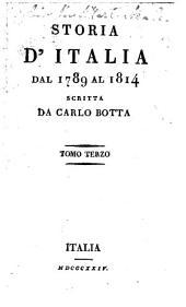 Storia d'Italia dal 1789 al 1814: Volume 3