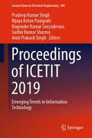 Proceedings of ICETIT 2019 PDF