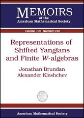 Representations of Shifted Yangians and Finite  W  algebras PDF