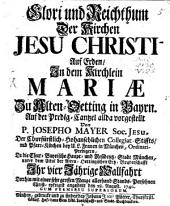 Glori und Reichthum der Kirchen Jesu Christi