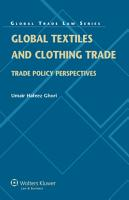 Global Textiles and Clothing Trade PDF