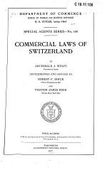 Commercial Laws of Switzerland