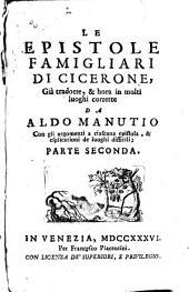 Le epistole famigliari di Cicerone: Volume 2