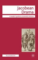 Jacobean Drama PDF
