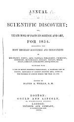 Annual of Scientific Discovery; Or, Year-book of Facts in Science and Art for ...