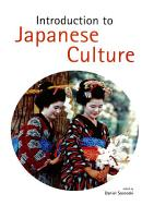 Introduction to Japanese Culture PDF