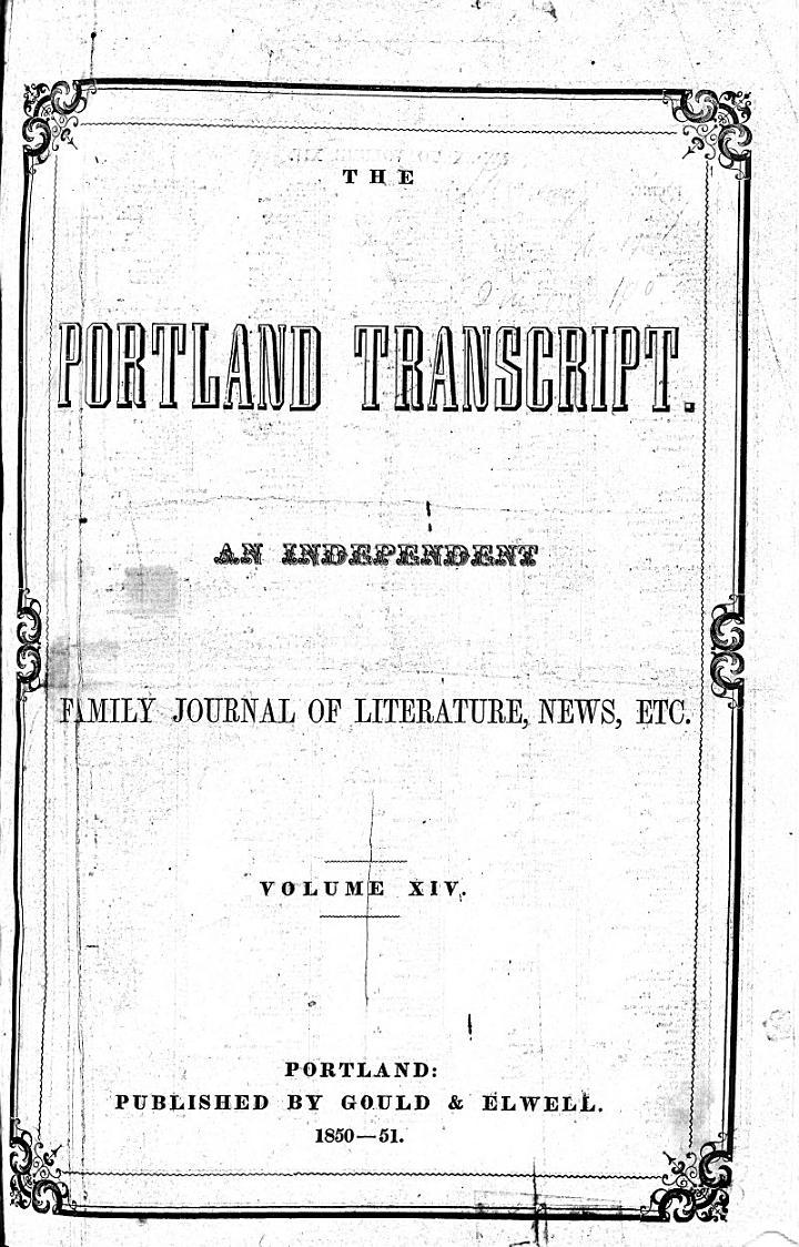 Portland Transcript