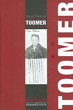 The Letters of Jean Toomer  1919 1924 PDF
