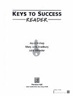 Keys to Success Reader PDF