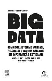 Big Data: Como extrair volume, variedade, velocidade e valor da avalanche de informação cotidiana