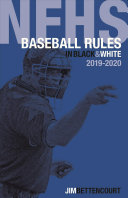 Nfhs Baseball Rules in Black and White Book
