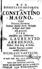 Diss. hist. de Constantino Magno