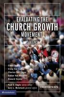 Evaluating the Church Growth Movement PDF