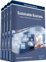 Sustainable Business  Concepts  Methodologies  Tools  and Applications PDF